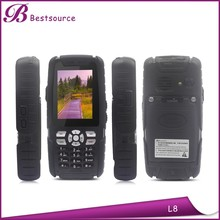 Top selling products for MTK6260A 320*240pixels Dual sim GSM 2.4inch ip67 walkie talkie rugged phone