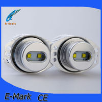 Car Accessories led angel eyes competitive E90 10W led marker angel eyes for BMW