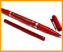 Permanent double tip marker pen double head marker marking pen