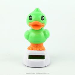 solar toys 2015 energy toys solar powered dancing ducks, car decorative gift sun doll factory wholesale