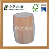 High-end special simple unfinished solid wooden wine buckets