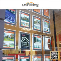 Advertising picture frame outdoor scrolling light box