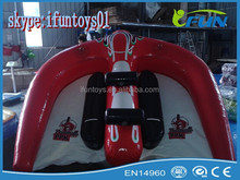 inflatable water tube flying / flying tube manta ray / water towable flying tubes