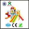 playground equipment guangzhou factory/platform for playground slide/airplane playground QX-B1704