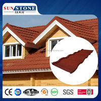 sand coated cheap metal roofing tiles