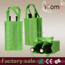 Non woven wine bag/bottle wine bag/divided wine tote bag(ITEM NO:W150430)