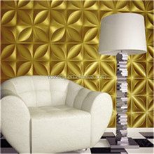 3D effect wall panel/ wall covering decoration board with deep embossed