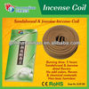 Pure Sandalwood Tibetan jasmine Incense coil of monibao