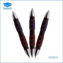 Beautiful new design double side metal pens with red heart