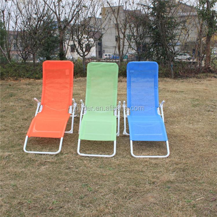 Oficina de campo de estilo de 180 grados portátil silla reclinable con reposapiés