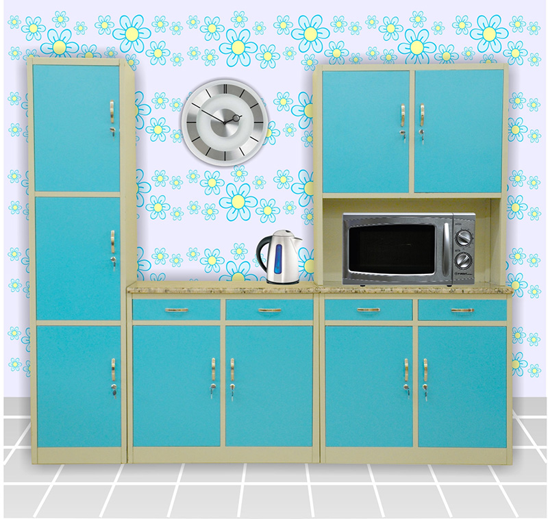 Kitchen Cupboard Model In Tamilnadu Style Marble Top