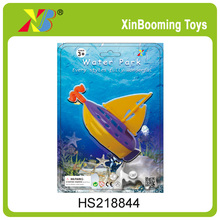 Promotional Pull line boat toy water toys for kids swimming toys