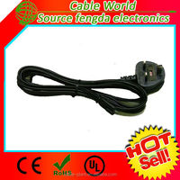 1ft 1ft 0.3m Monitor Power Adapter Cord nema 5-15 power cord