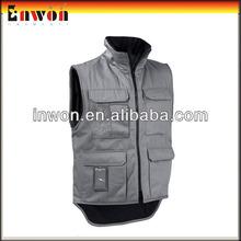Outdoor Sleeveless Fleece Work Vest