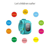 Alibaba Newest ce rohs smart watch, waterproof android gps smart watch with SOS,Shenzhen Smart Mobile kids smart watch