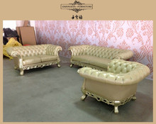 European style handcraft neoclassical furniture antique wood home sofa couches-living room furniture DXY-841#