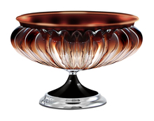 European glass crystal fruit plate creative fashion queen large fruit plate fruit bowl Home Alice