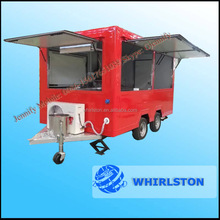 New Model Can Be Customed Food And Beverage Cart/Pizza Vending Cart Kiosk