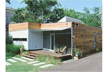 Econova light steel structure small home in container/ granny flat in your backyard