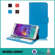 5.7 inch mobile phone leather case for Samsung Galaxy Note 5