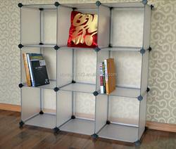 wholesale decorative eco-friendly living room storage shelf
