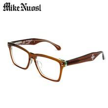 MIKENUOSL Unisex Handmade Acetate Eyewear Optical Frame