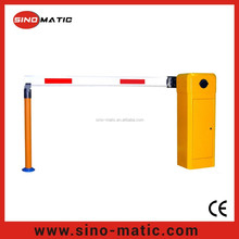 Crash rated automatic vehicle parking barrier gate system