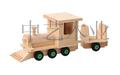 Sa8000, fsc e iso9001 quente vendas kd madeira brinquedo caminhão venda