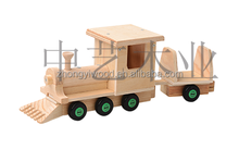 SA8000,FSC and ISO9001 hot sales KD wooden toy truck sale