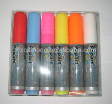New Year hot factory Wet-Erase Liquid Chalk Markers ,Led board marker CH-3209 with 10mm parallel nib
