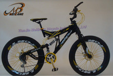 2014 cool MTB bike/mountain bicycles double suspension made in china