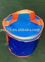 39 ball Round PVC bag for golf ball