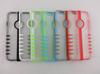 NEW Folding LED Flashing TPU Hard PC Cover Case For iPhone 4 4S 5 5S 6 6Plus