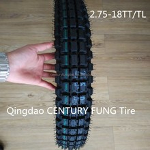 Supply high quality china cheap motorcycle tyre 2.75-18 nonskid