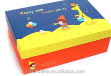 cartoon colorful birthday gift paper box