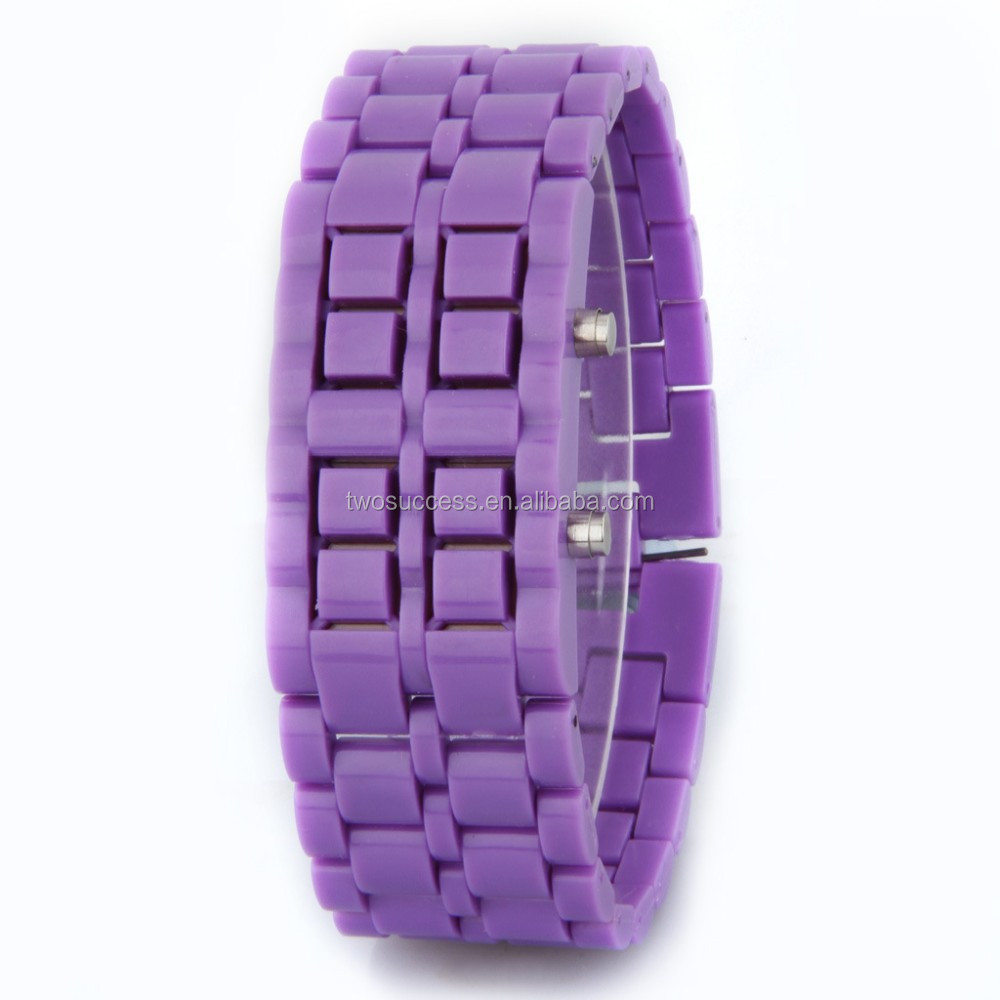Lava LED chain watch (8)