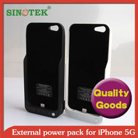SINOTEK 4200mah rechargeable battery case for iphone 5