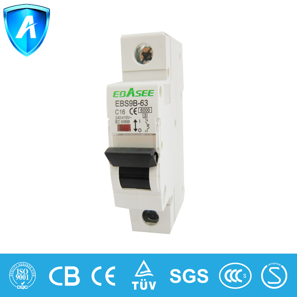 Interruptores automaticos en miniatura