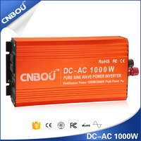 Excellent quality 1000w dc 12v to ac 220v pure sine wave solar panel inverter for home use