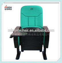 Best quality plastic chair covers with arms seats for hall