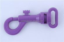 OEM custom PMS colour purple carabine hook fitting for bag/suitcase/handbag