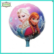 "18"" newest high quality helium balloon frozen balloon foil balloon"