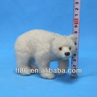 beautiful realistic life-like for Christmas decorative mini plush bear