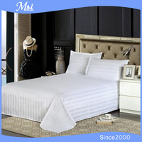 cheap hotel & hospital bed cover sheet pillow cases sets made in China