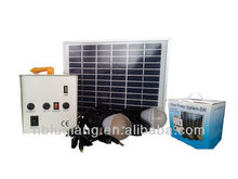 FQ-905W portable 5W solar energy system mini home solar system for lighting and mobile charging