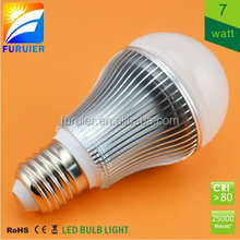 Samsung smd 7w e27 led light bulb for house