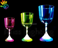 cheap factory best plastic led red wine cup glowing cup for party 12oz