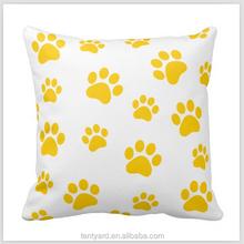 hot sell soft cushion ecliner pillow cheap throw pillows plain paw print pillow