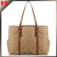 hot professional bags for women Long strap cheap leather nylon woman tote bag