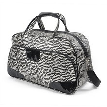 New style directly factory travel bag with Velcro and shoulder strap